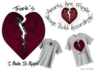 T-Shirt design, Thank's I Made It Myself by Thamyris71