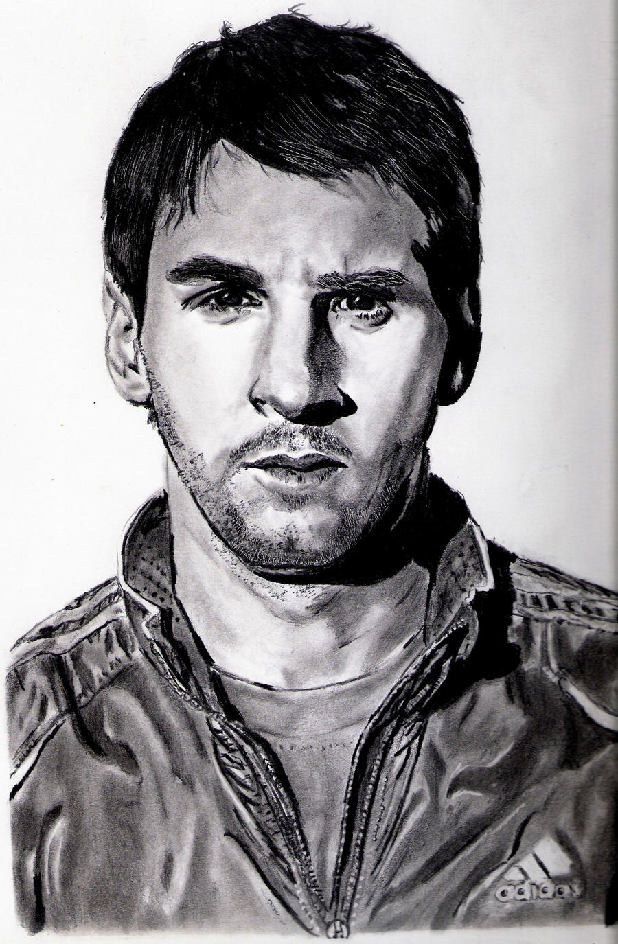 Lionel Messi Portrait by Ju29ro94 on DeviantArt