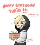 HAPPY BIRTHDAY YURIO !!!!