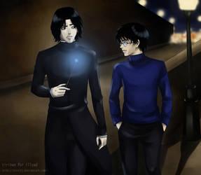 Walking in the Night by BrET13
