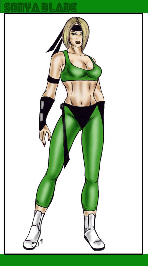 Sonya Blade MK1 Outfit by OneWingedAngel75Sonya Blade Mk1
