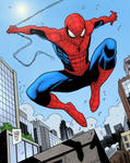 Spider-man by Luca Maresca (colors by me)