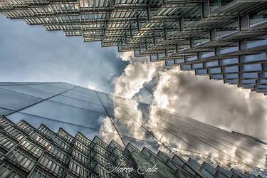 Cloudy Walls by pendrym