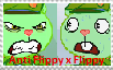 Stamp - Anti Flippy x Flippy by Fliggles4Life