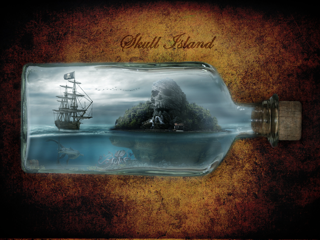 skull island by ElementOfOne1