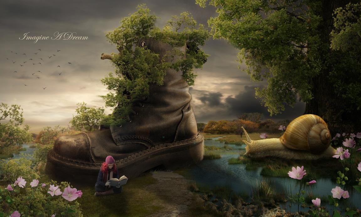 Imagine A Dream 3 by BenjaminHaley