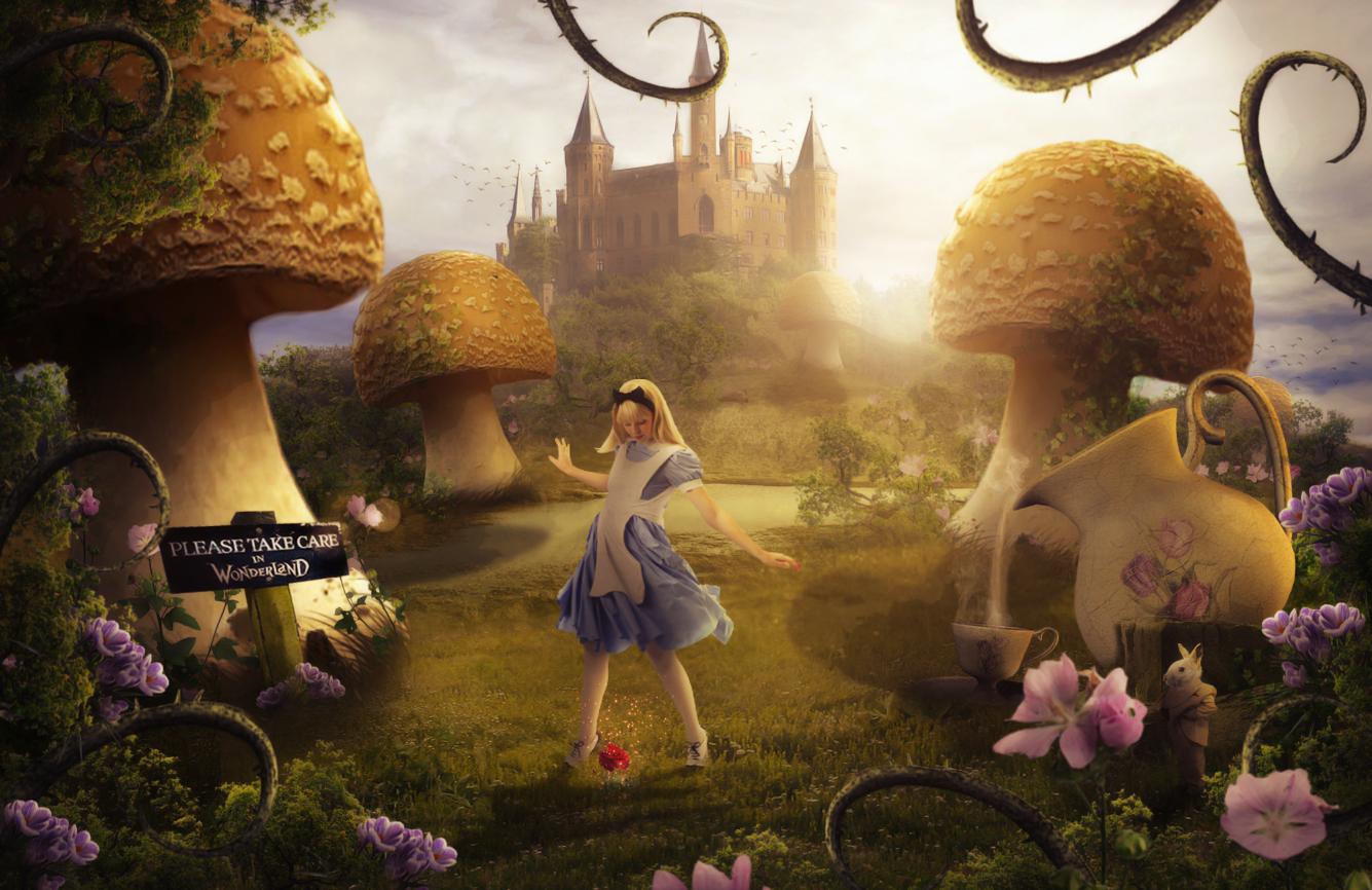 Alice In Wonderland by HaleyDesigns