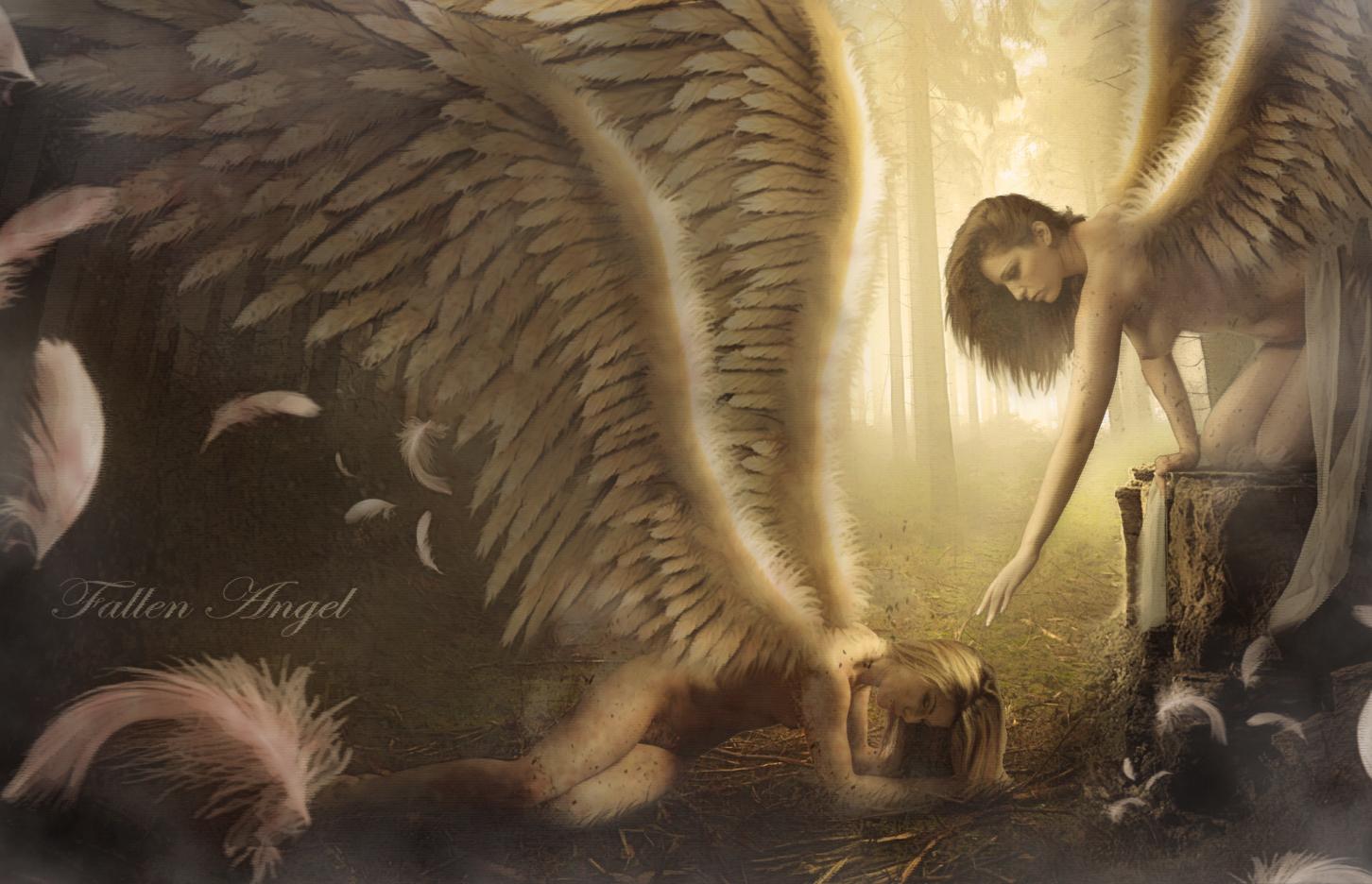Fallen Angel by ElementOfOne1