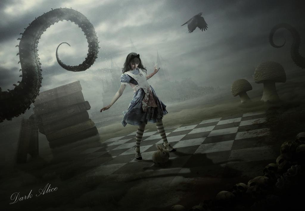 Dark Alice by ElementOfOne1