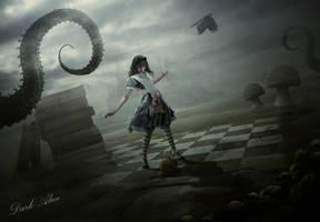 Dark Alice by BenjaminHaley