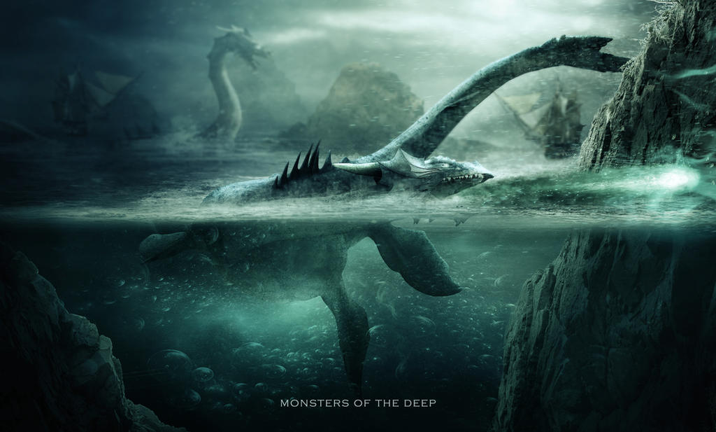 Monsters Of The Deep 2 by HaleyDesigns