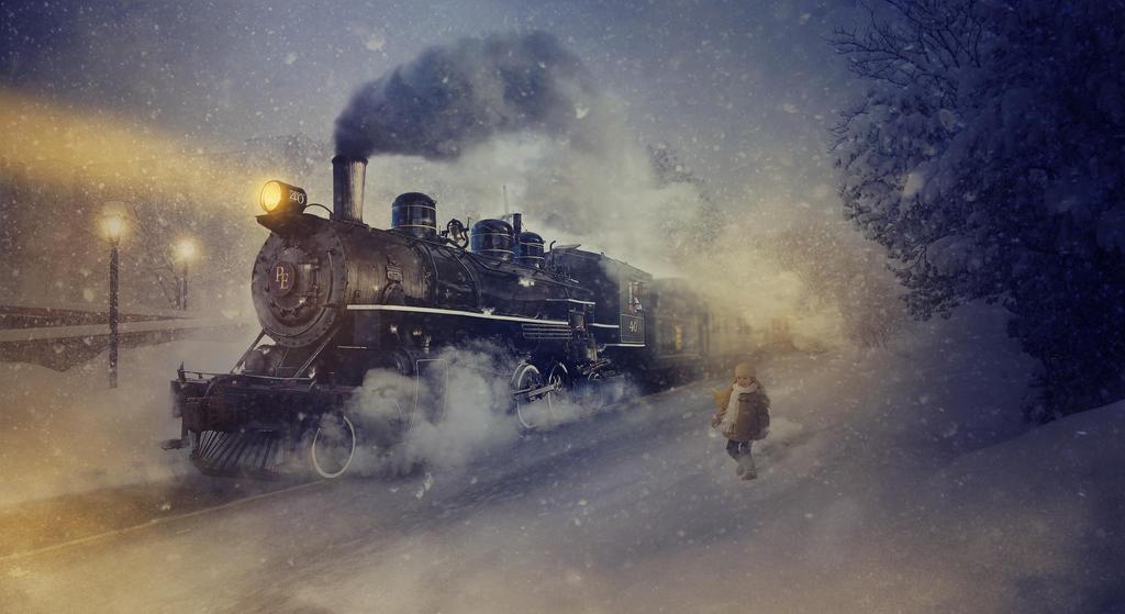 the polar express by benjaminhaley on deviantart