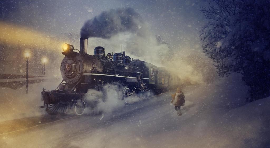 The Polar Express by BenjaminHaley