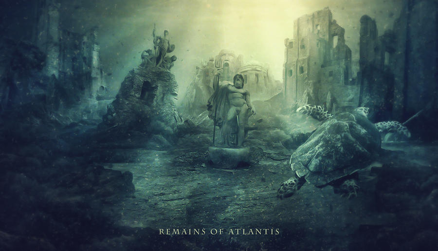 Remains Of Atlantis by HaleyDesigns