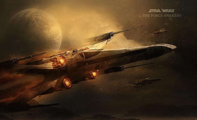 Star Wars The Force Awakens by BenjaminHaley