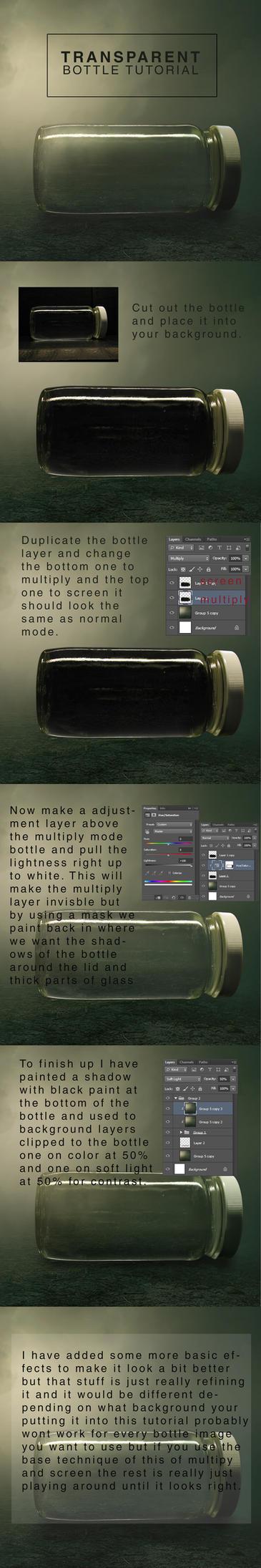 Transparent Bottle Tutorial by BenjaminHaley