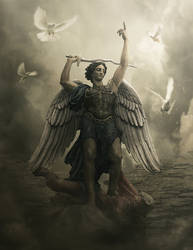 Archangel by BenjaminHaley