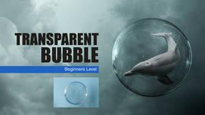 Photoshop Transparent Bubble Tutorial