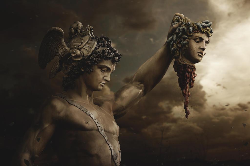 Fall Of Medusa by BenjaminHaley