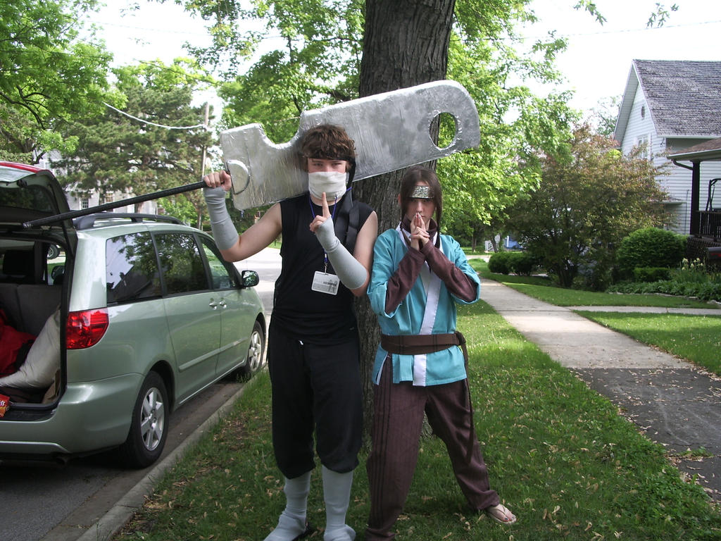 Zabuza and haku cosplay