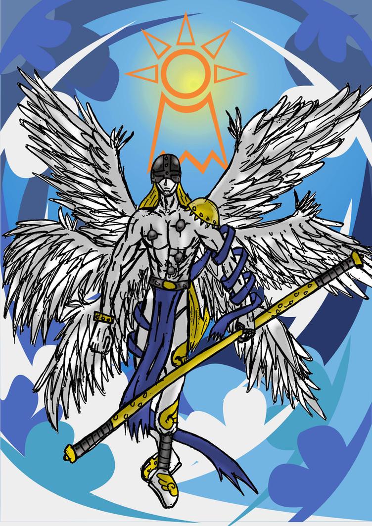 Angemon - The Crest of Hope by gordonjugah