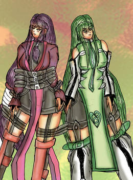 Naomi and Tsuki - She and Senior