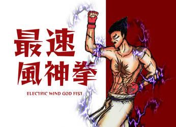 Kazuya Mishima - Electric Wind God Fist