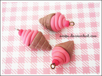 Ice Cream Charms by enogu
