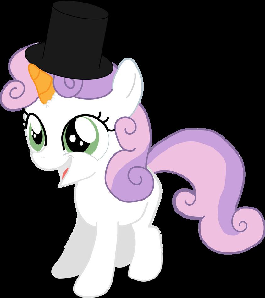 Sweetie The Snowpony by Hexedecimal