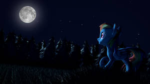 The Rainbow at Night by Hexedecimal