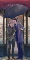Umbralla with Kiss (Myc/John)