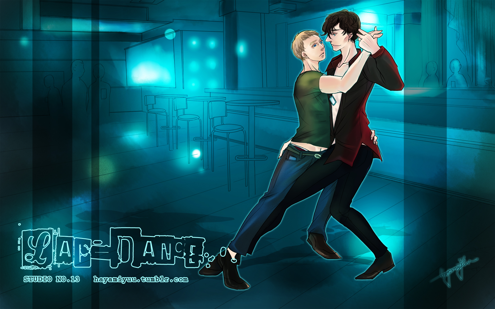 Lap-dance-SherlockXJohn (RE) by hayamiyuu