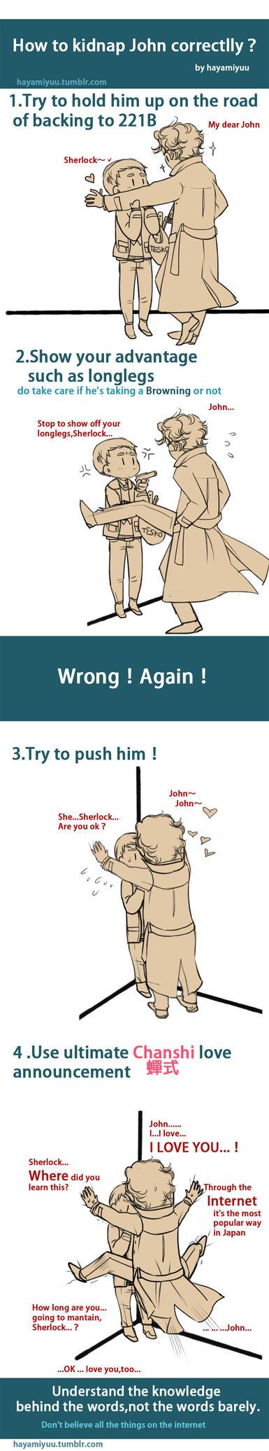 How to kidnap John correctlly? by hayamiyuu