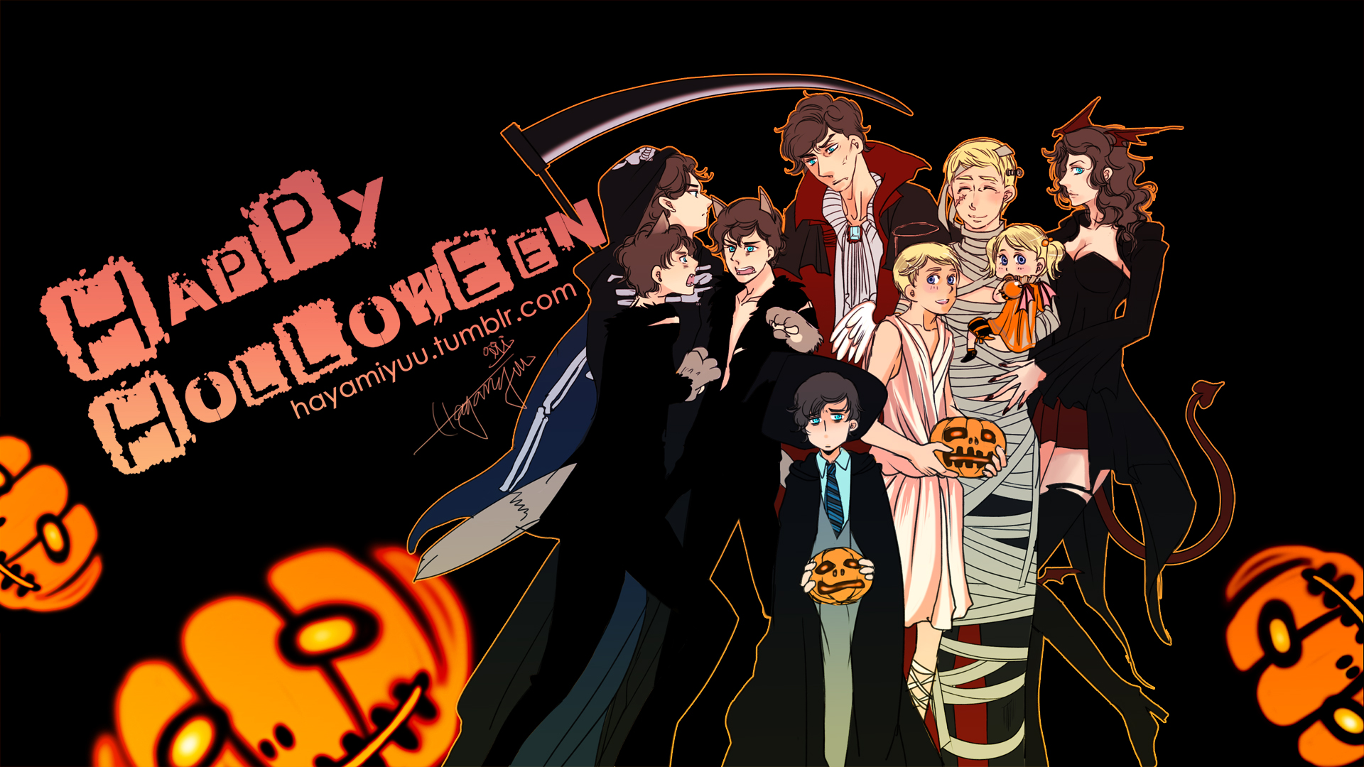 Happy Holloween by hayamiyuu