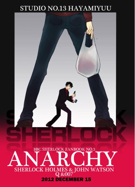 Anarchy (BBC Sherlock VS. OO7) by hayamiyuu