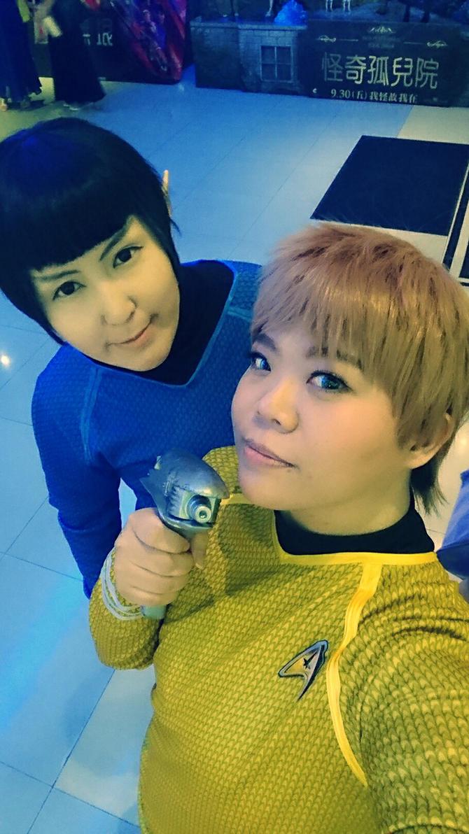 SpockandKirk by hayamiyuu