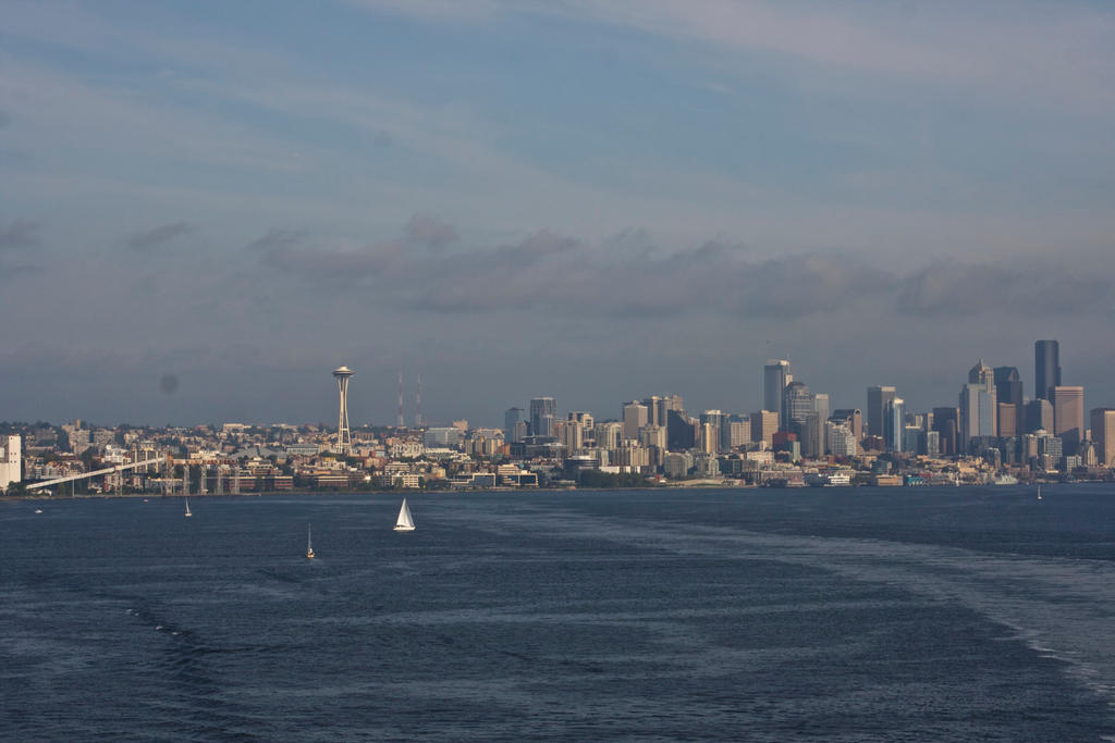 Seattle Skyline Aboard the Star Princess