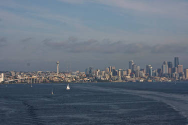 Seattle Skyline Aboard the Star Princess