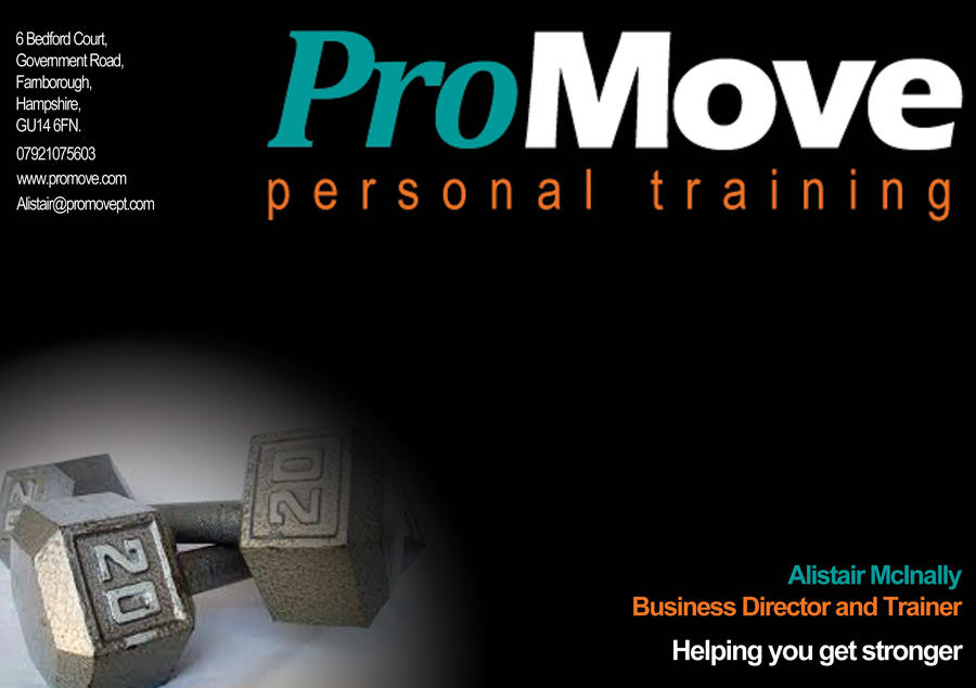 personal training personal training flyer