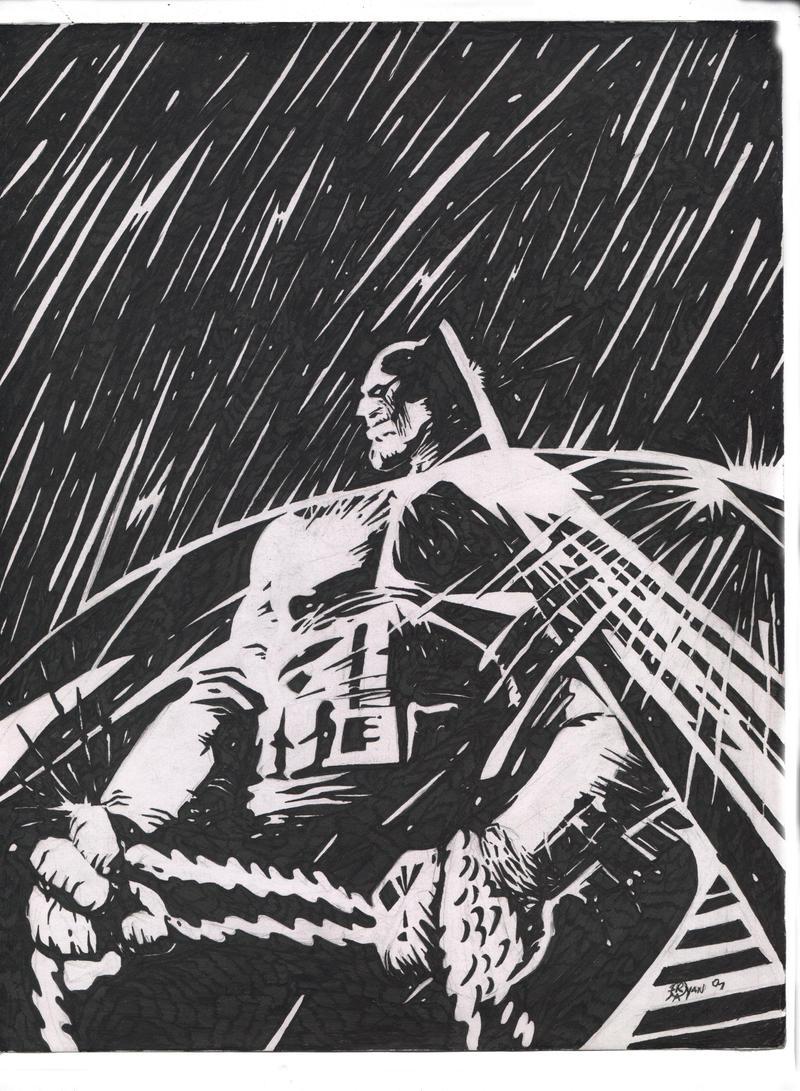 Frank Miller Art Rain