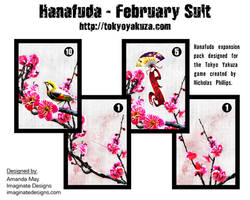 Hanafuda - February Suit by AMaysBrain