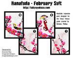 Hanafuda - February Suit
