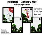 Hanafuda - January Suit