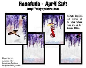 Hanafuda - April Suit