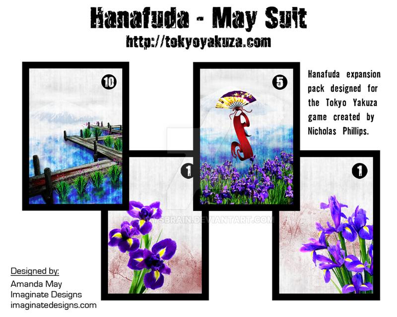 HanafudaMaySuit-Promo by AMaysBrain