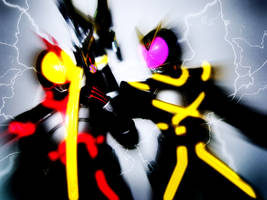 Exceed Charge -Kamen Rider- by Lukemaciel