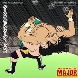 Pro-Wrestling MAJOR: Half-Nelson Suplex by DetectiveMask