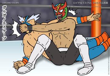 Pokemon Wrestling: Masked Royal vs Crasher Wake by DetectiveMask