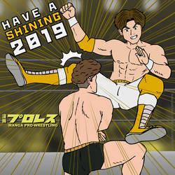 Manga Pro-Wrestling: Have a Shining 2019! by DetectiveMask