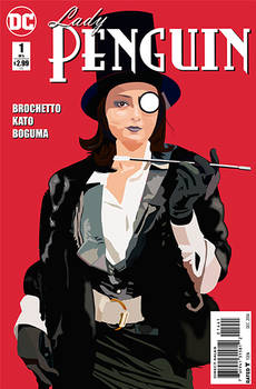 Cosplay Illustration: Lady Penguin